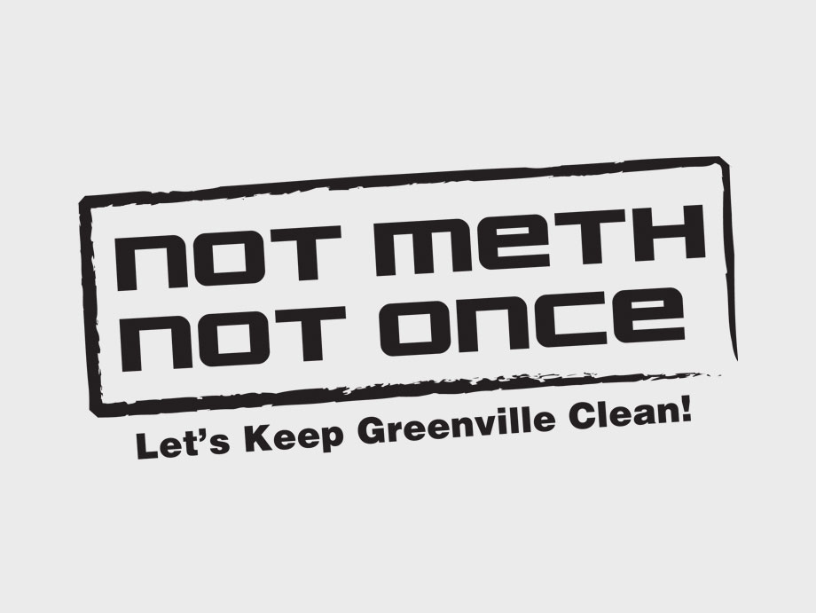 That Creative Guy. Not Meth. Not Once. Logo Design. brand expert. graphic design. web design in mississippi.