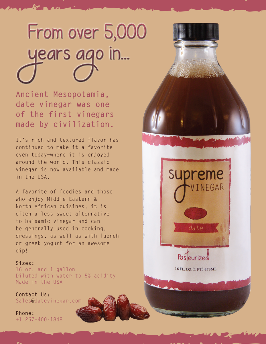 That Creative Guy. Supreme Vinegar Advertising Design. brand expert. graphic design. web design in mississippi.