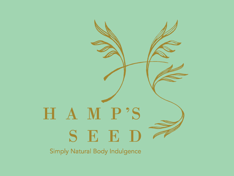That Creative Guy. Hamp's Seed Logo Design. brand expert. graphic design. web design in mississippi.