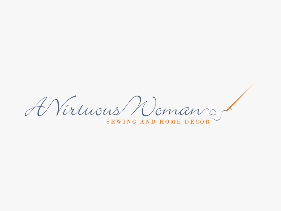That Creative Guy. A Virtuous Woman Logo Design. brand expert. graphic design. web design in mississippi.