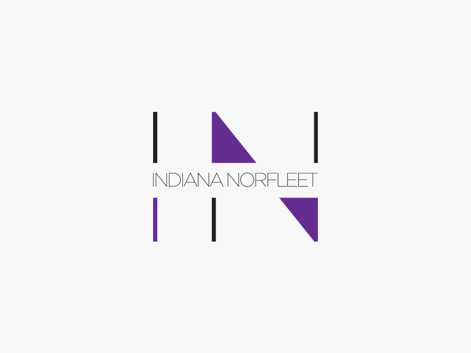 That Creative Guy. Indiana Norfleet Logo Design. brand expert. graphic design. web design in mississippi.