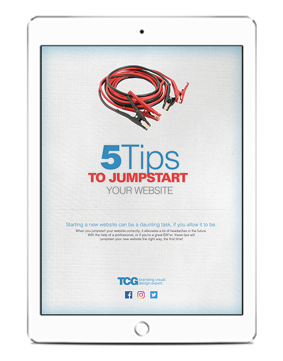 5 Tips to Jumpstart Your Website. brand expert. graphic design. web design in mississippi.