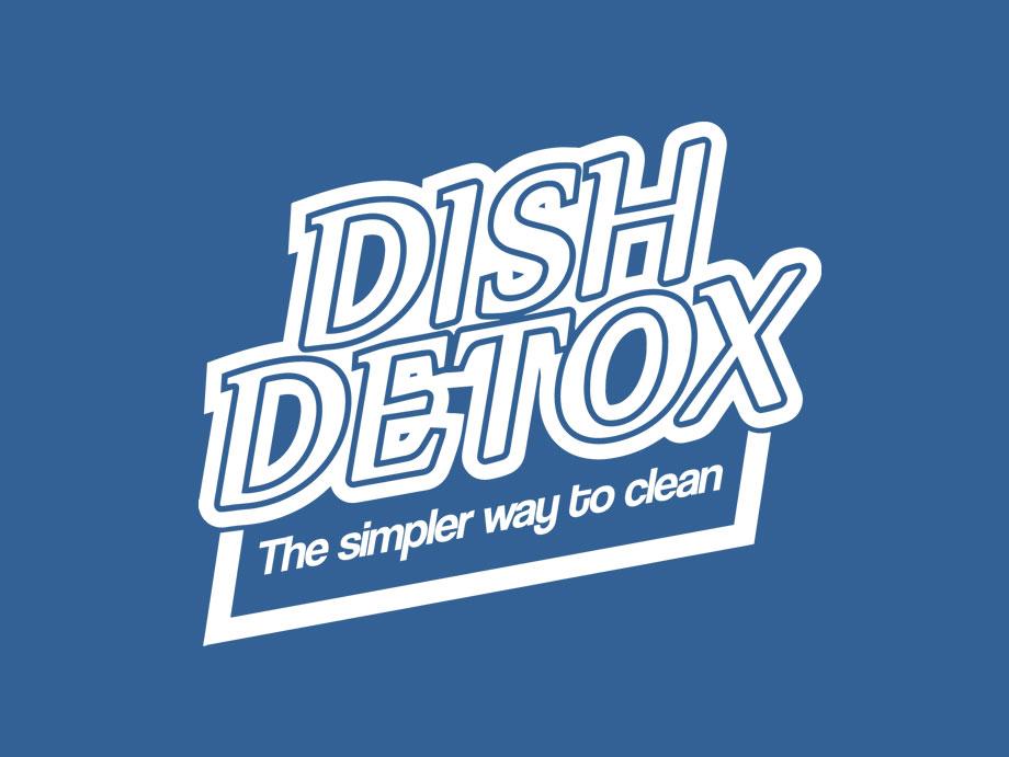 That Creative Guy. Dish Detox Logo Design. brand expert. graphic design. web design in mississippi.