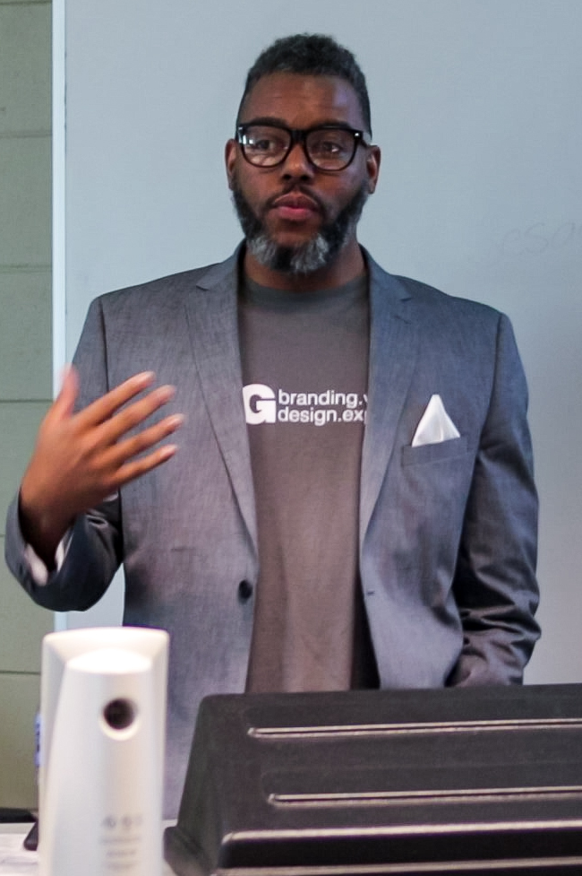 That Creative Guy. Dewon Hall. brand expert. graphic design. web design in mississippi.