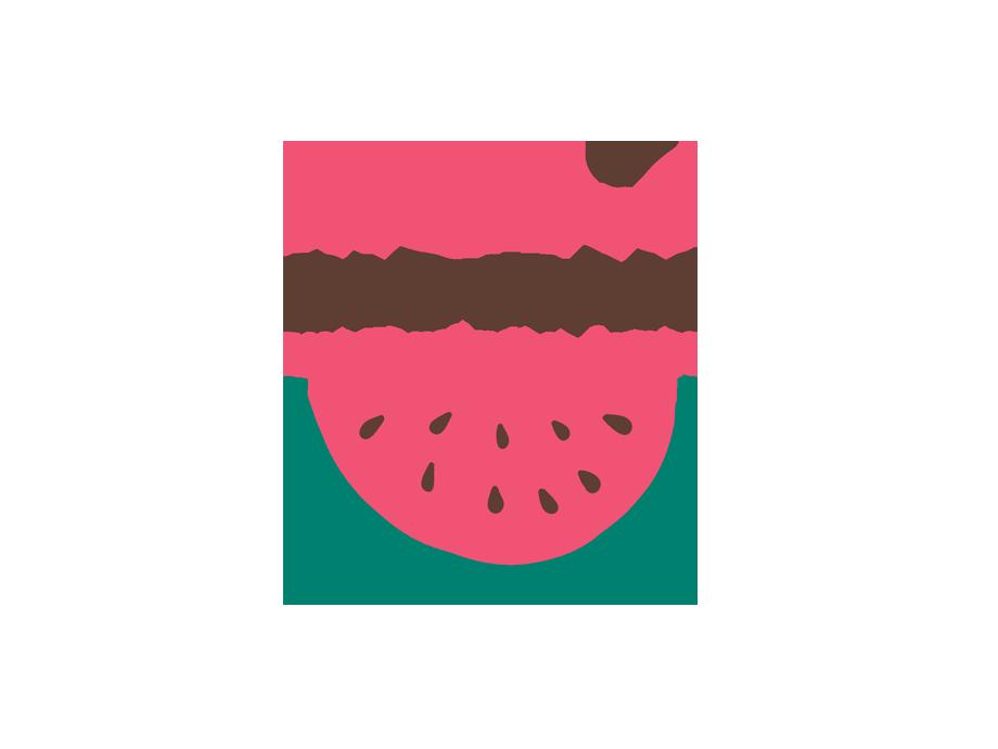 That Creative Guy. Bigman Watermelon Farm Logo Design. brand expert. graphic design. web design in mississippi.